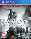 Assassin's Creed III Remastered (Assassins) Playstation 4 (PS4) video spēle