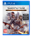 Middle Earth Shadow of War Definitive Edition Playstation 4 (PS4) video spēle