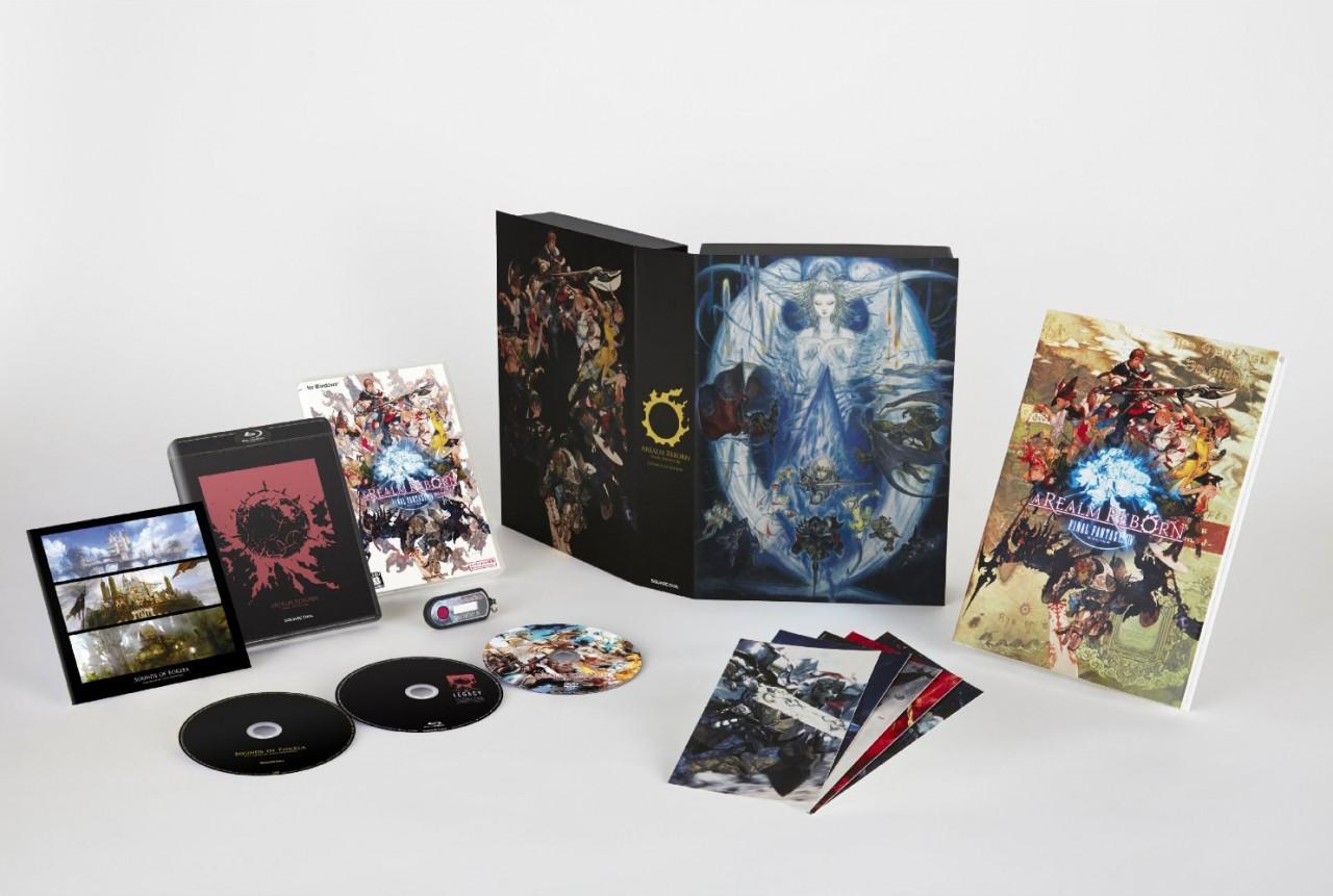Final Fantasy XIV (14) A Realm Reborn - Collector's Edition