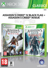 Assassin's Creed IV (4) Black Flag + Assassins Creed Rogue Double Pack Xbox 360 video spēle - ir veikalā