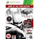 Batman: Arkham City - Game of the Year Edition Xbox 360 video spēle