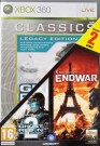 Ghost Recon Advanced Warfighter 2 + EndWar Xbox 360 video spēle