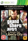 GTA Grand Theft Auto IV (4) Complete Edition Xbox 360 (Xbox One compatible) video spēle