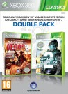 Rainbow Six Vegas 2 & Ghost Recon Advanced Warfighter 2 (Double Pack) Xbox 360 video spēle