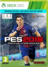 Pro Evolution Soccer (PES) 2018 - Premium Edition Xbox 360 video spēle