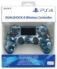 Sony Playstation 4 (PS4) Dualshock 4 Controller V2 - Blue Camouflage pults