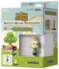 Animal Crossing: Happy Home Designer + Amiibo Isabelle Nintendo 3DS spēle