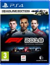 F1 2018 Headline Edition Playstation 4 (PS4) video spēle