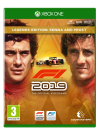 F1 2019 Legends Edition Xbox One video spēle