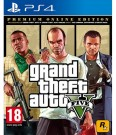 GTA 5 Grand Theft Auto V Premium Online Edition Playstation 4 (PS4) video spēle
