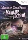 Mystery Case Files: The Malgrave Incident Nintendo Wii video game