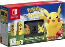 Nintendo Switch Console Pikachu & Eevee Edition + Pokémon: Let's Go, Pikachu! + Poké Ball Plus