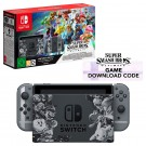 Nintendo Switch Ltd Ed Console Super Smash Bros. Ultimate + Super Smash Bros. DLC (UK plug)
