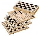Galda spēle Philos Chess-Backgammon-Checkers-Set, field 50 mm 2519 šahs nardi dambrete