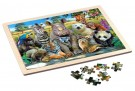 Philos Wooden frame puzzle, Exotic Wildlife 9000