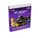 Playstation Network Card £50 GBP PS3