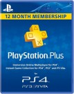 Playstation Plus - 1 Year - 12 month Subscription Card for PS4, PS3 & Vita UK
