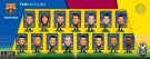 Soccerstarz - Barcelona Champions 2013 Celebration Team Pack - Figures