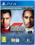 F1 2019 Anniversary Edition Playstation 4 (PS4) video spēle - ir veikalā