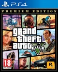 GTA Grand Theft Auto V (5) Premium Edition Playstation 4 (PS4) video game - in stock