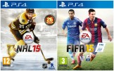 NHL 15 + FIFA 15 Playstation 4 (PS4) video spēle - ir veikalā