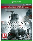 Assassin's Creed III Remastered (Assassins) Xbox One video spēle - ir veikalā
