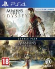 Assassin's Creed Origins + Odyssey Double Pack Playstation 4 (PS4) video spēle