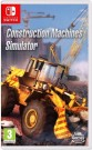 Construction Machines Simulator Nintendo Switch video spēle